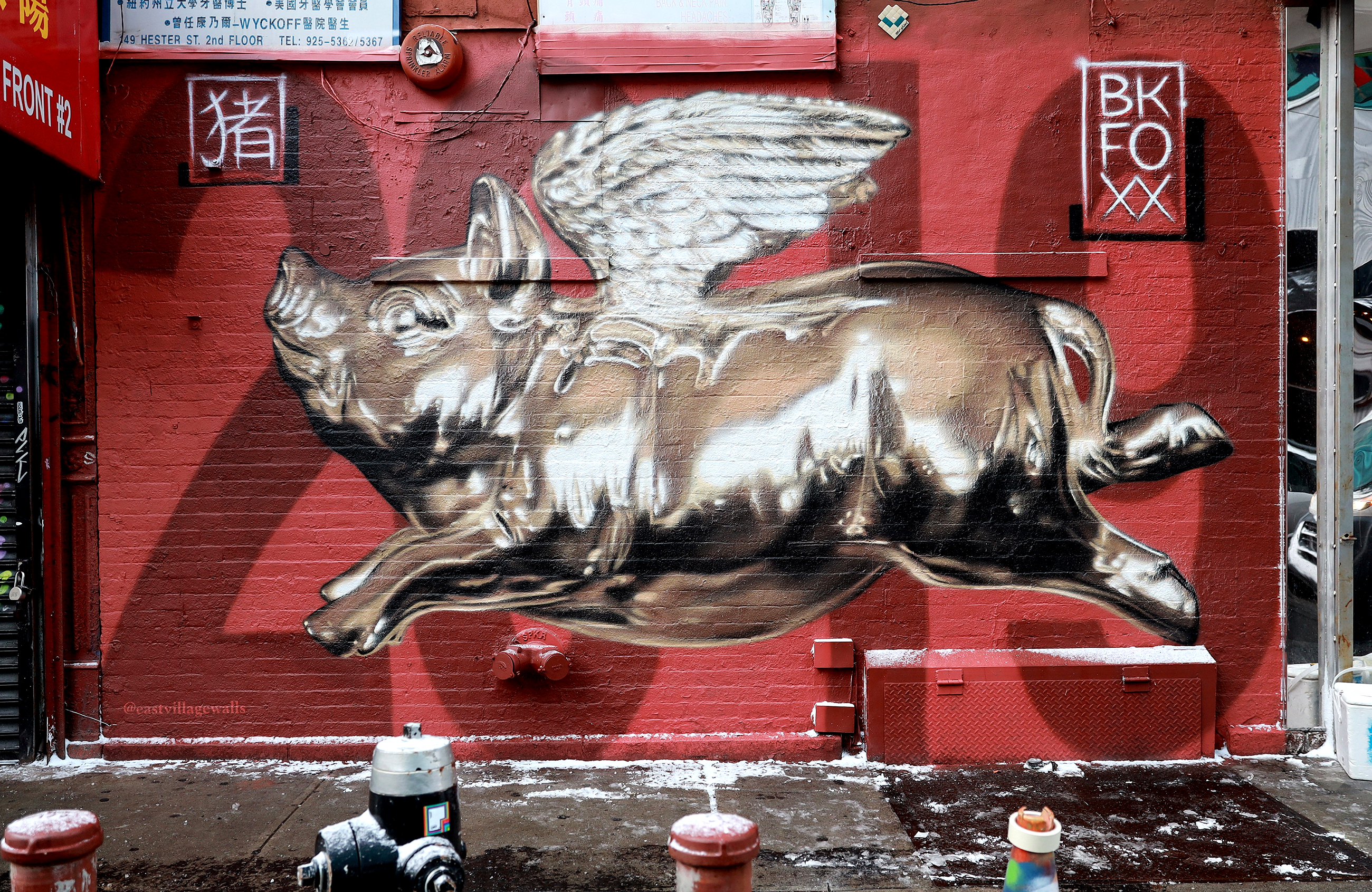 <b>Year of the Pig</b><br>Chinatown, NY<br>with @eastvillagewalls, Jan 2019<br>photo by @just_a_spectator