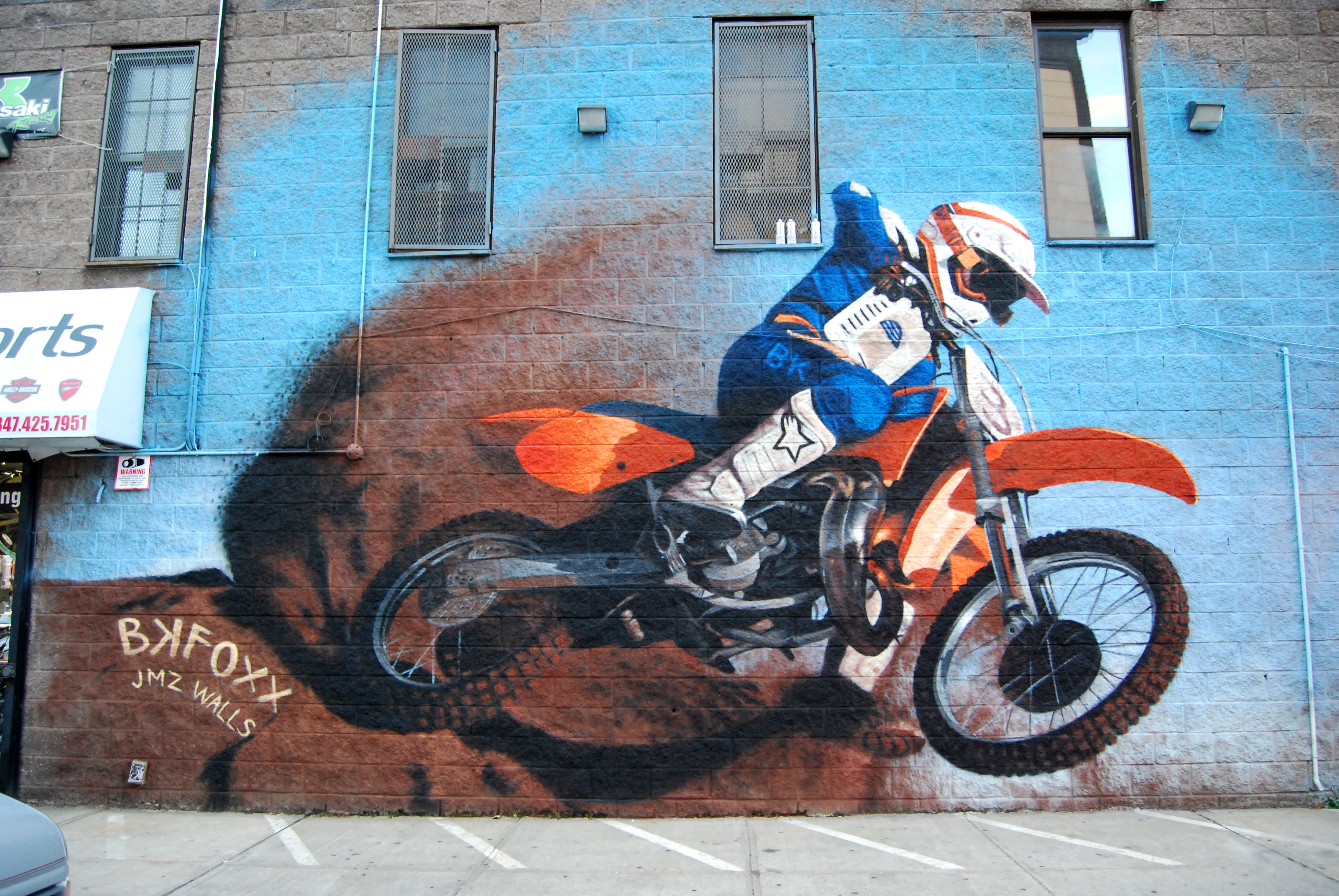 <b>Dirtbike</b><br>Brooklyn, NY<br>with JMZ Walls, Oct. 2015