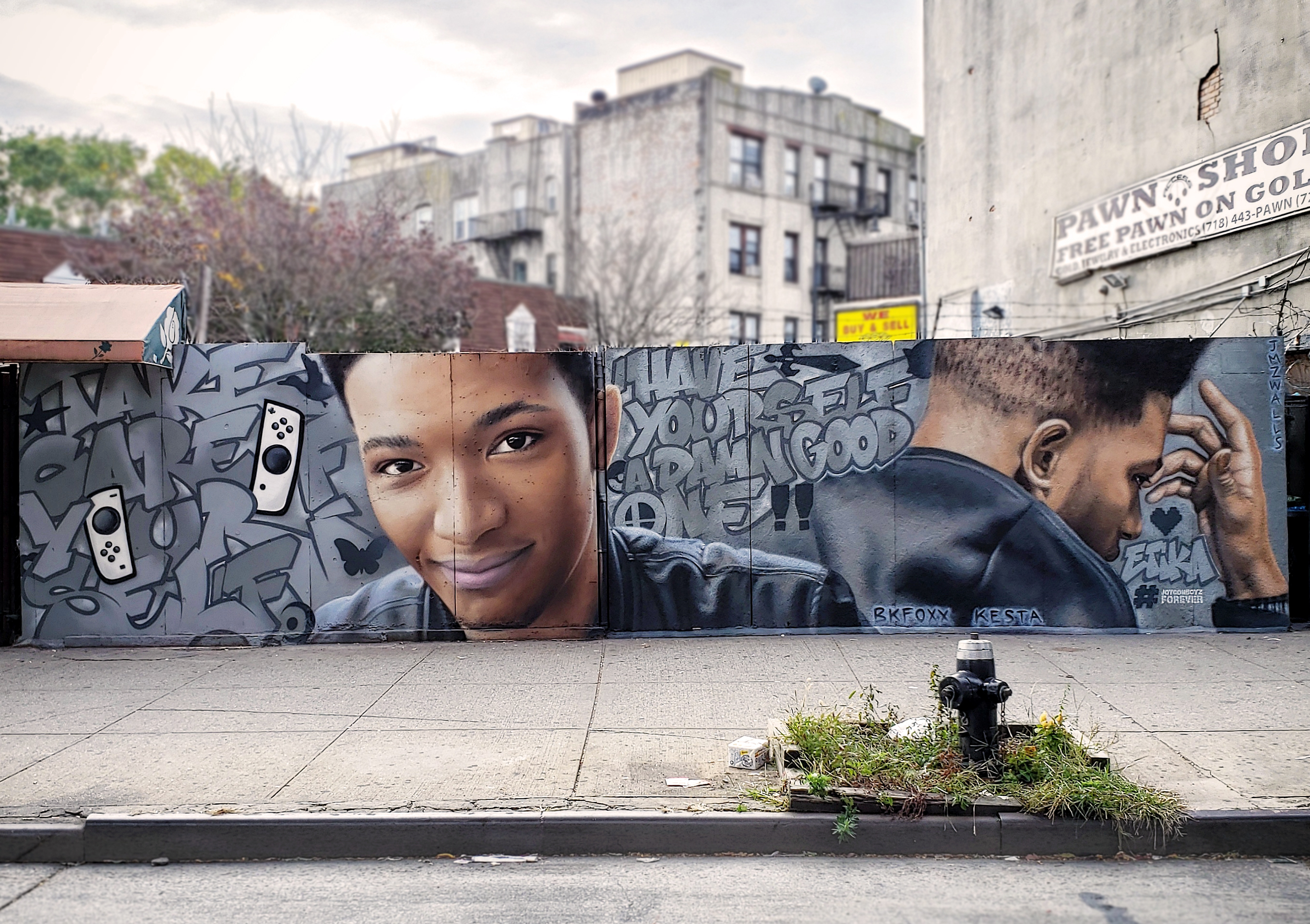 <b>Etika</b><br>collaboration with Kesta Adm<br>Brooklyn NY<br>with JMZ Walls, Nov 2019<br>photo by